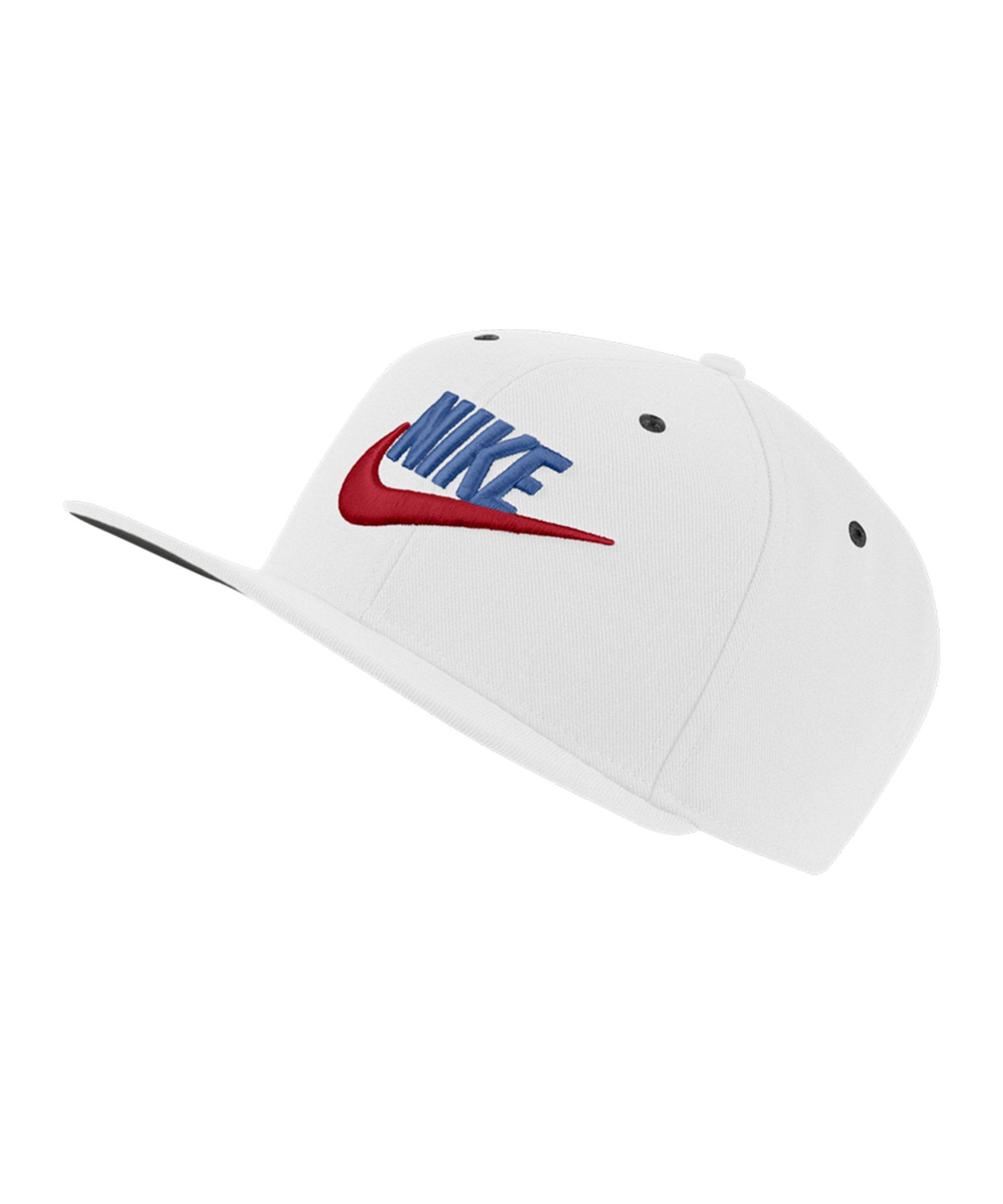 Nike Futura Dri-FIT Cap Weiss Schwarz F104 - weiss