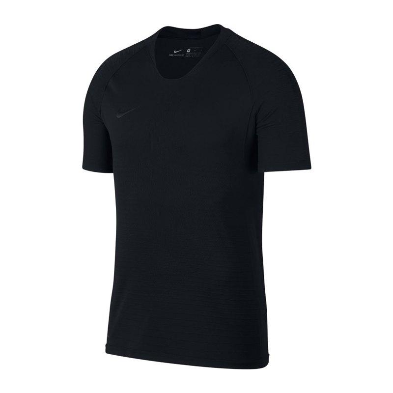 Nike Vapor Knit Strike Top Schwarz F010 - schwarz