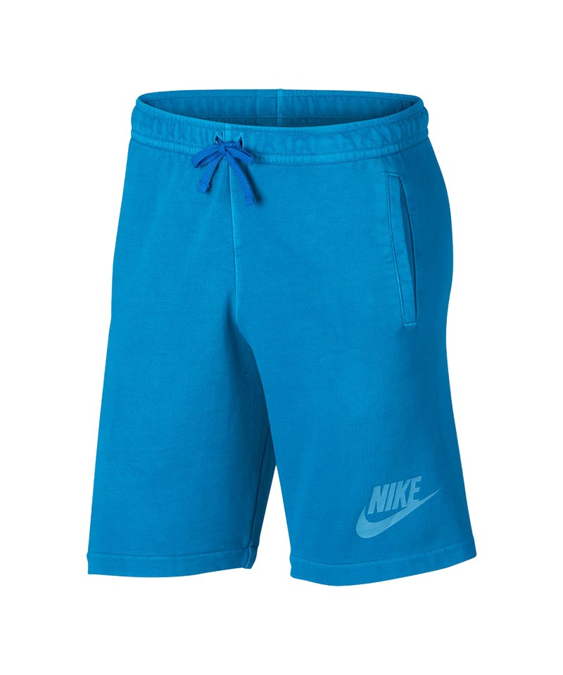 Nike Short Wash Fabric Short Blau F482 - blau