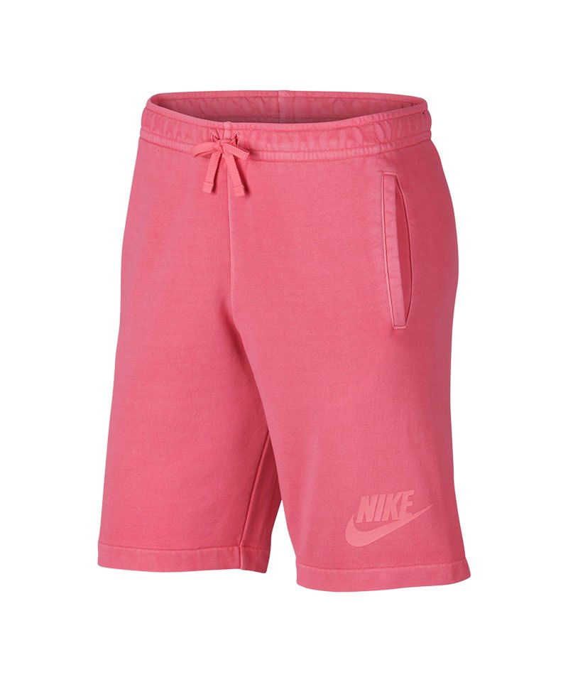 Nike Short Wash Fabric Short Pink F823 - pink