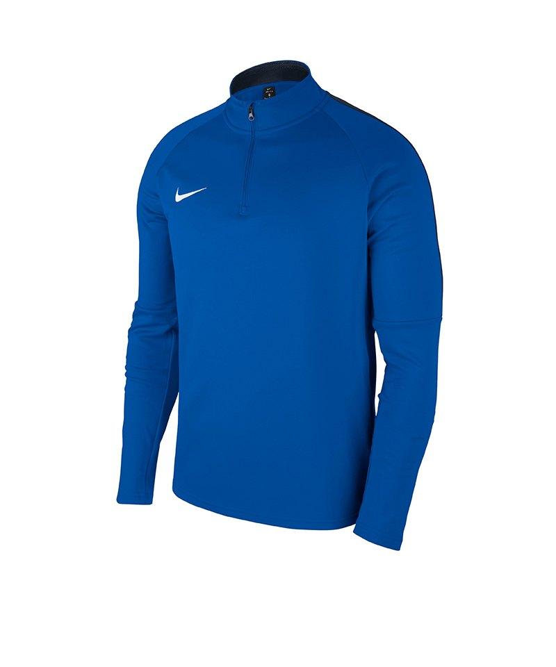 Nike Academy 18 Drill Top Sweatshirt Blau F463