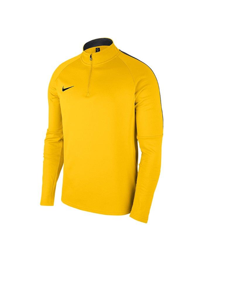 Nike Academy 18 Drill Top Sweatshirt Gelb F719 - gelb