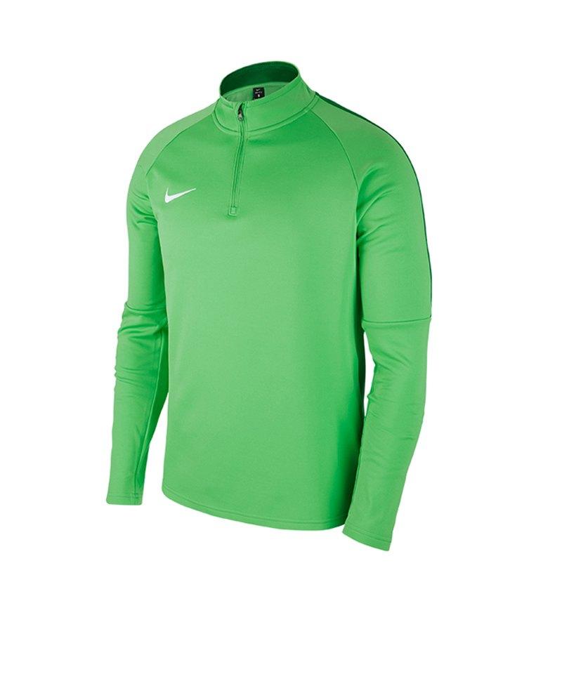 Nike Academy 18 Drill Top Sweatshirt Grün F361