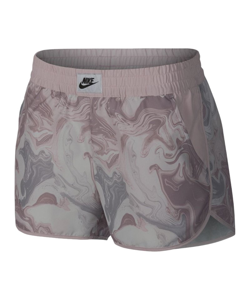Nike Marble Short Damen Rosa Grau F694 - rosa