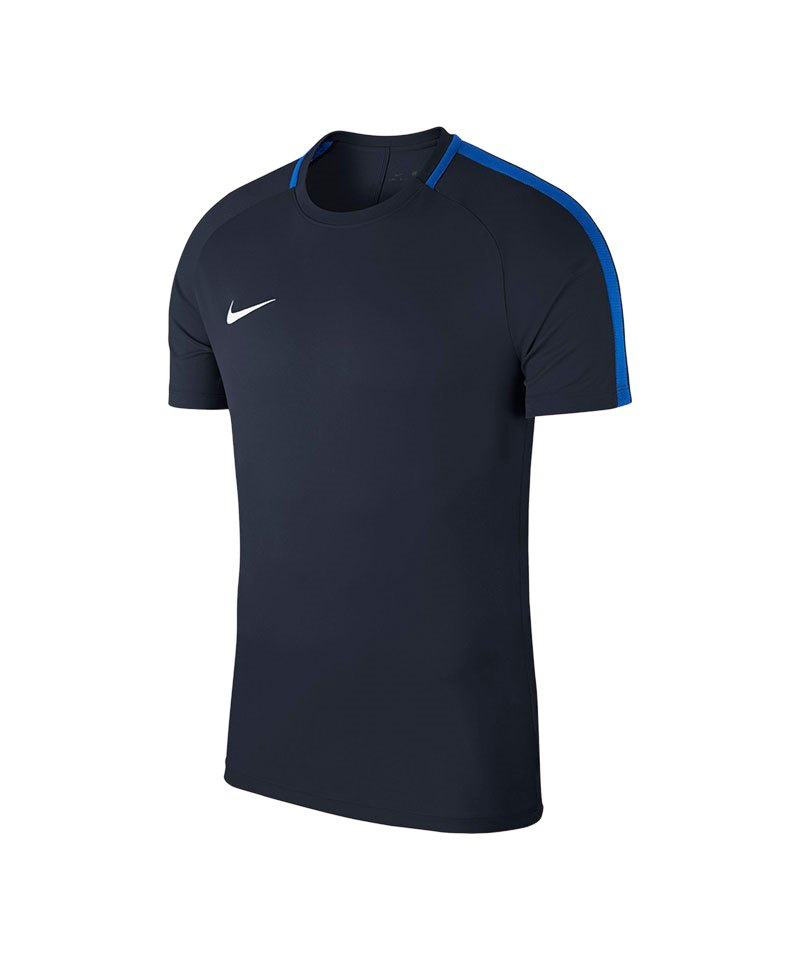 Nike Academy 18 Football Top T-Shirt Blau F451 - blau