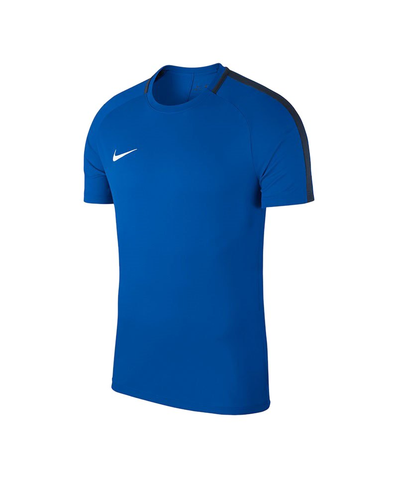 Nike Academy 18 Football Top T-Shirt Blau F463 - blau