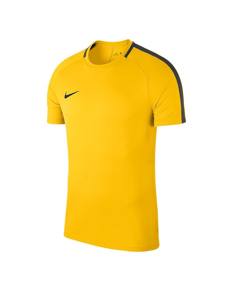 Nike Academy 18 Football Top T-Shirt Gelb F719 - gelb