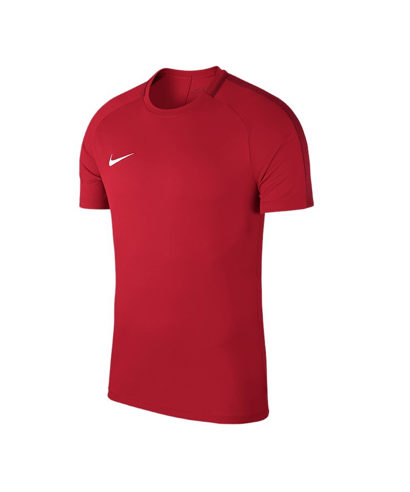 Nike Academy 18 Football Top T-Shirt Rot F657 - rot