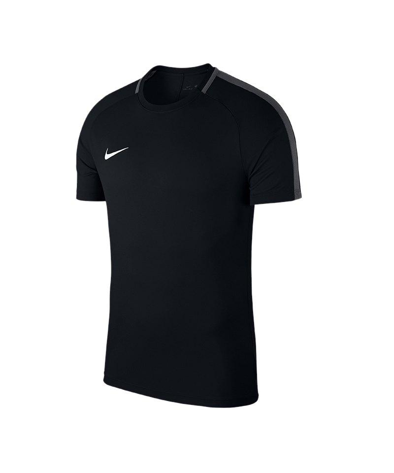 Nike Academy 18 Football Top T-Shirt Schwarz F010 - schwarz