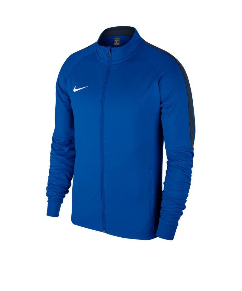 Nike Academy 18 Knit Trainingsjacke Blau F463 - blau