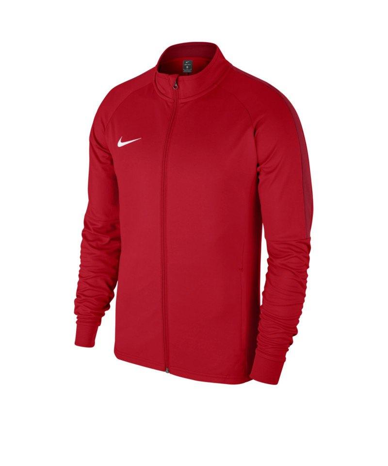 Nike Academy 18 Knit Trainingsjacke Rot F657 - rot