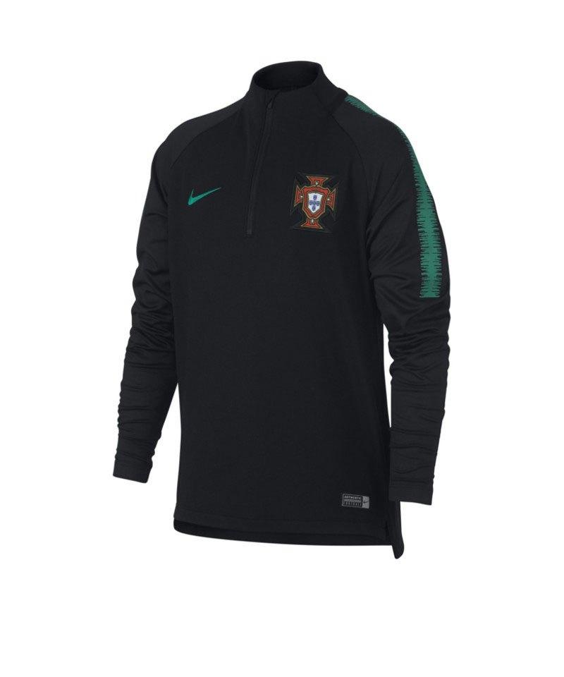 Nike Portugal Dry Squad Drill Top Kids F010 - schwarz