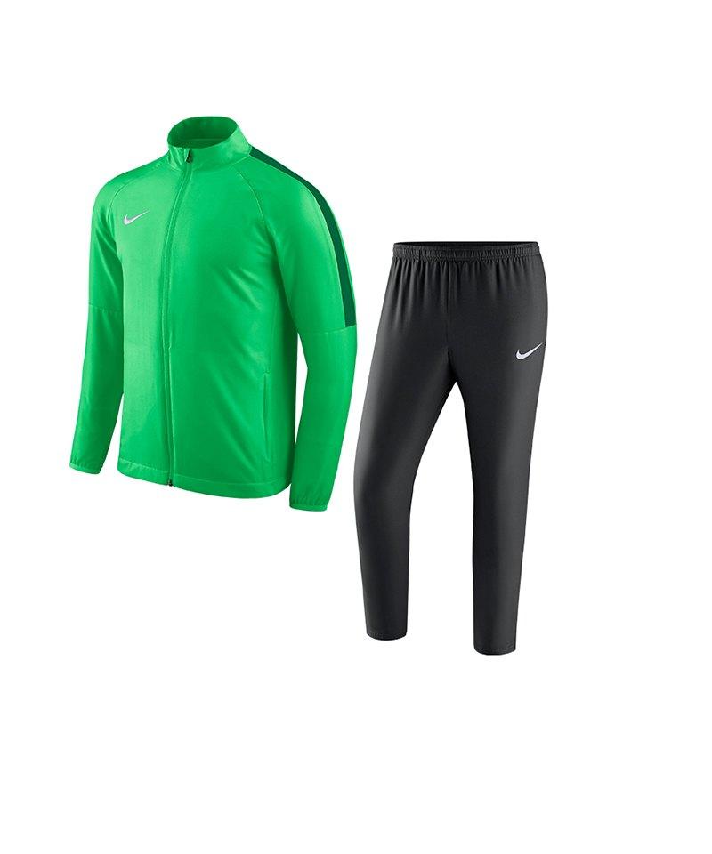 Nike Academy 18 Woven Trainingsanzug Grün F361 - gruen