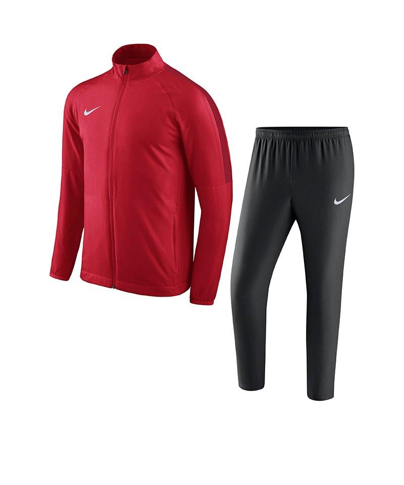 Nike Academy 18 Woven Trainingsanzug Rot F657 - rot