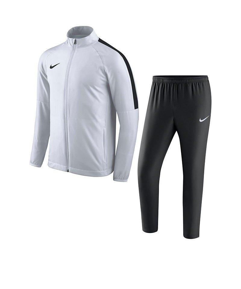 Nike Academy 18 Woven Trainingsanzug Weiss F100 - weiss