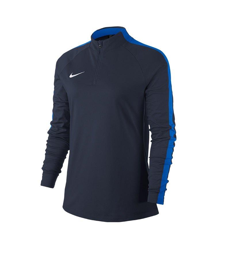Nike Academy 18 Drill Top Sweatshirt Damen F451 - blau