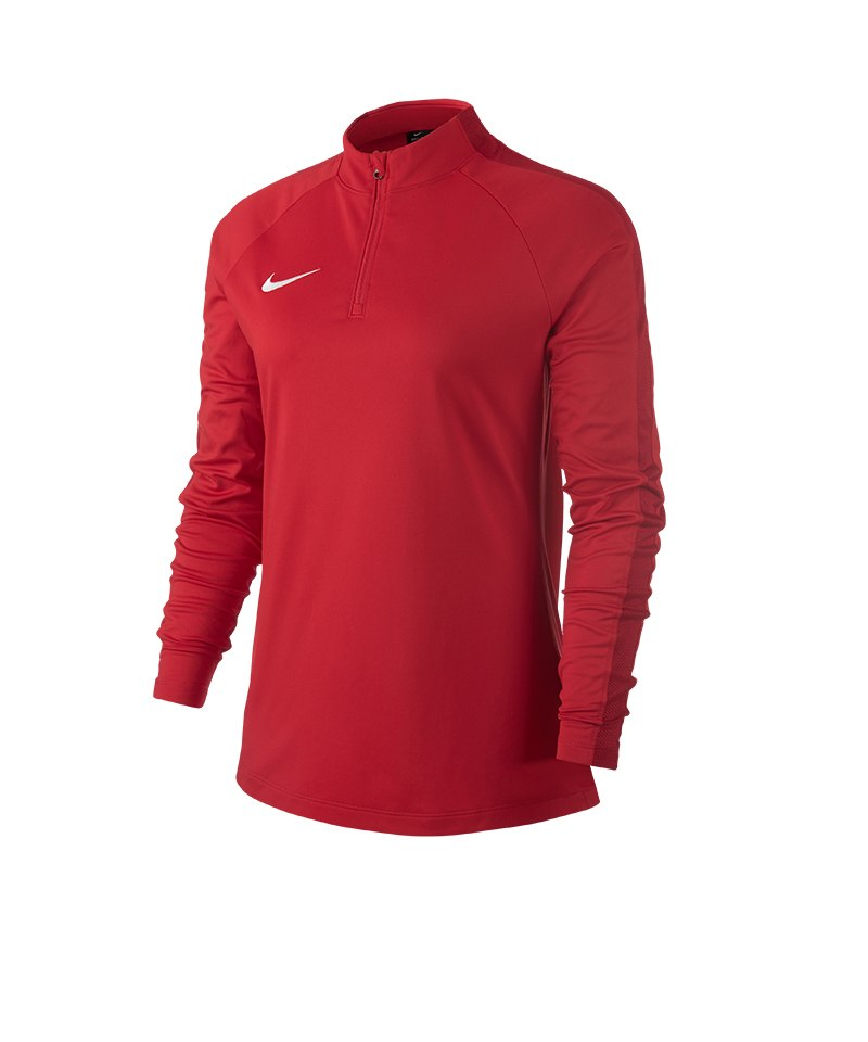 Nike Academy 18 Drill Top Sweatshirt Damen F657 - rot