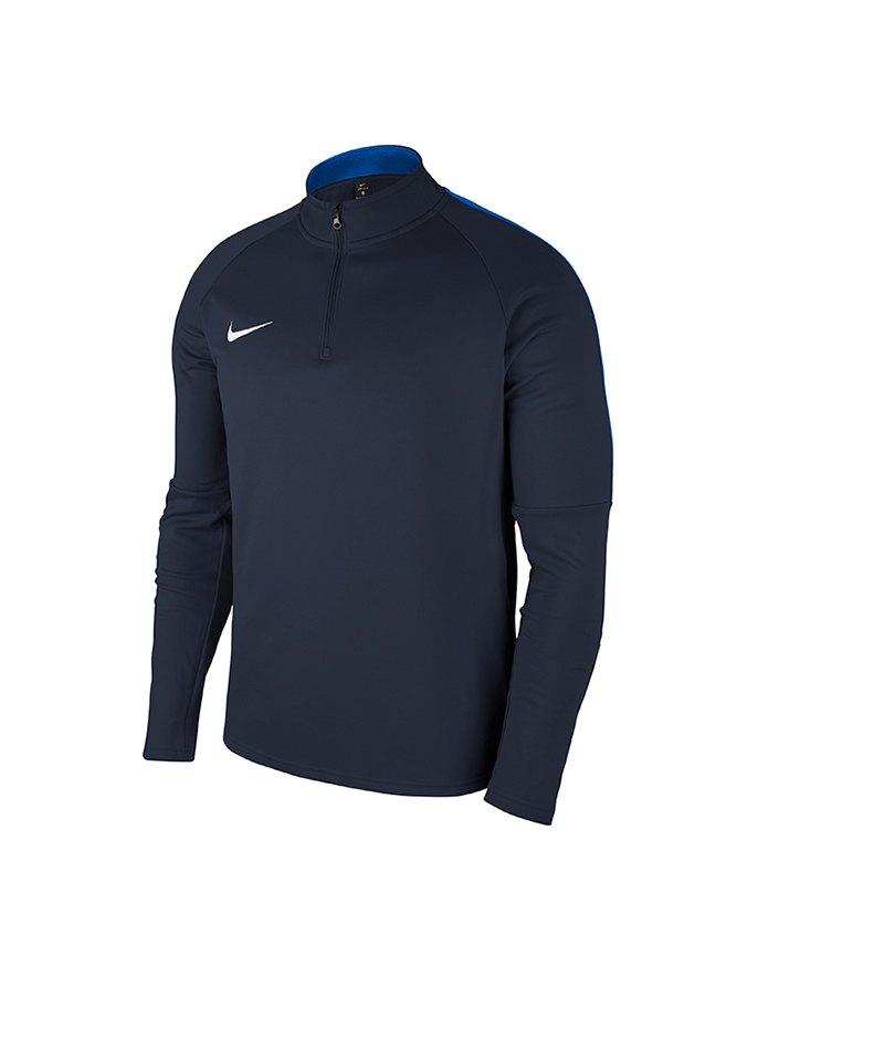 Nike Academy 18 Drill Top Sweatshirt Kids F451 - blau