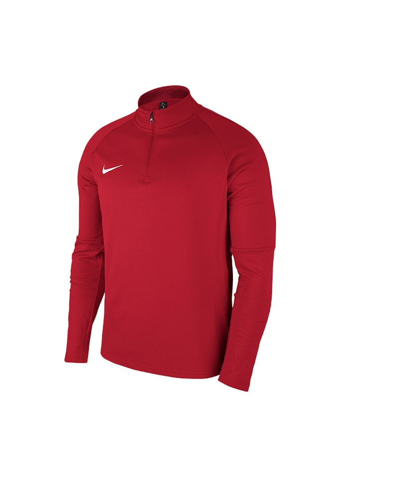Nike Academy 18 Drill Top Sweatshirt Kids F657 - rot