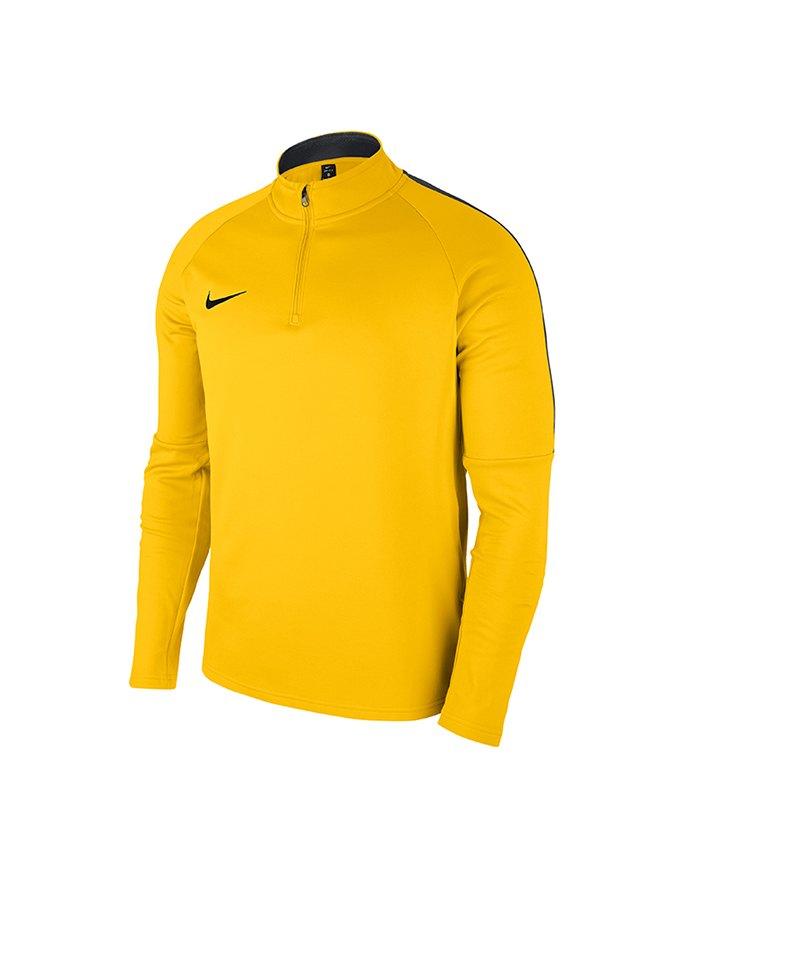 Nike Academy 18 Drill Top Sweatshirt Kids F719 - gelb
