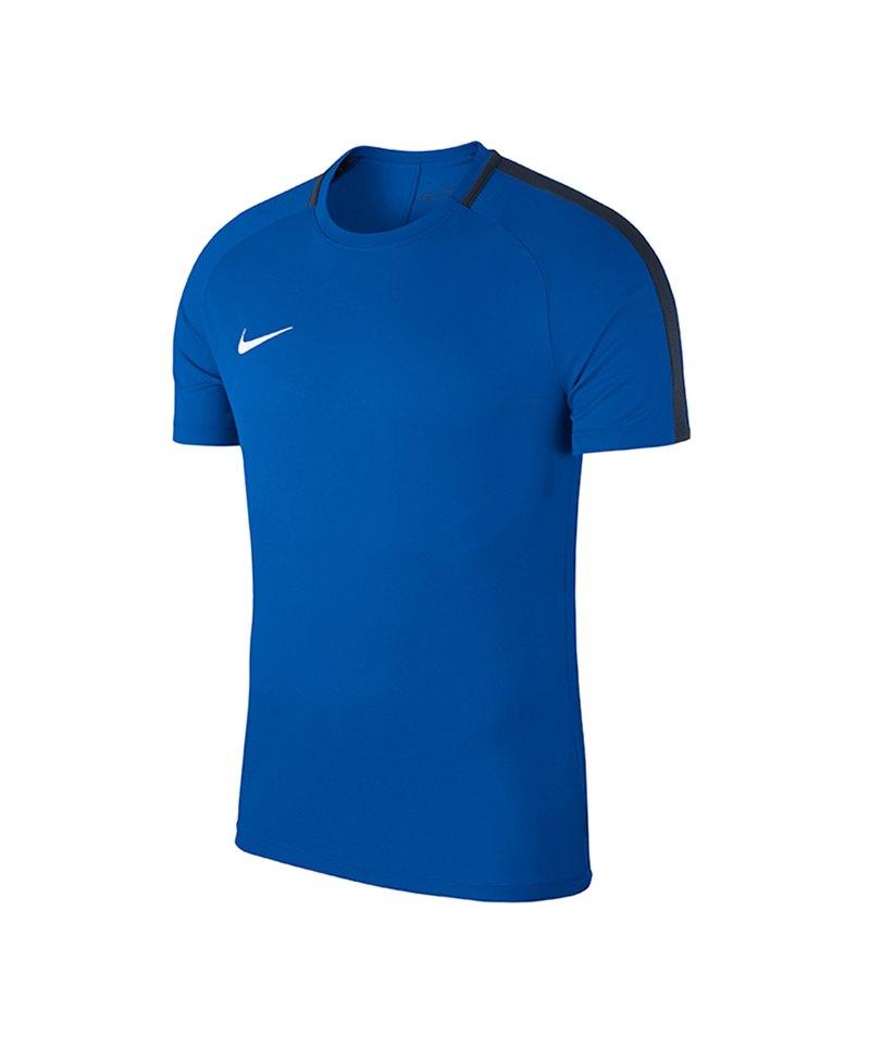 Nike Academy 18 Football Top T-Shirt Kids F463 - blau