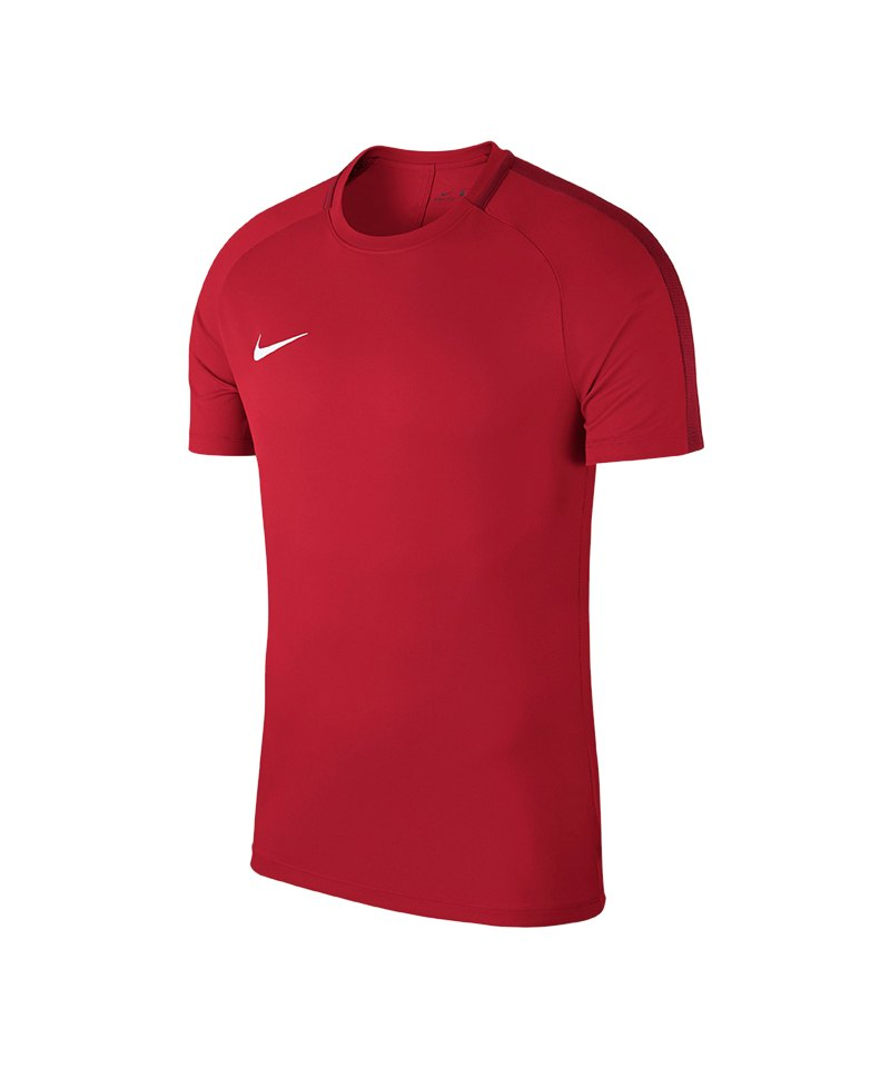 Nike Academy 18 Football Top T-Shirt Kids F657 - rot