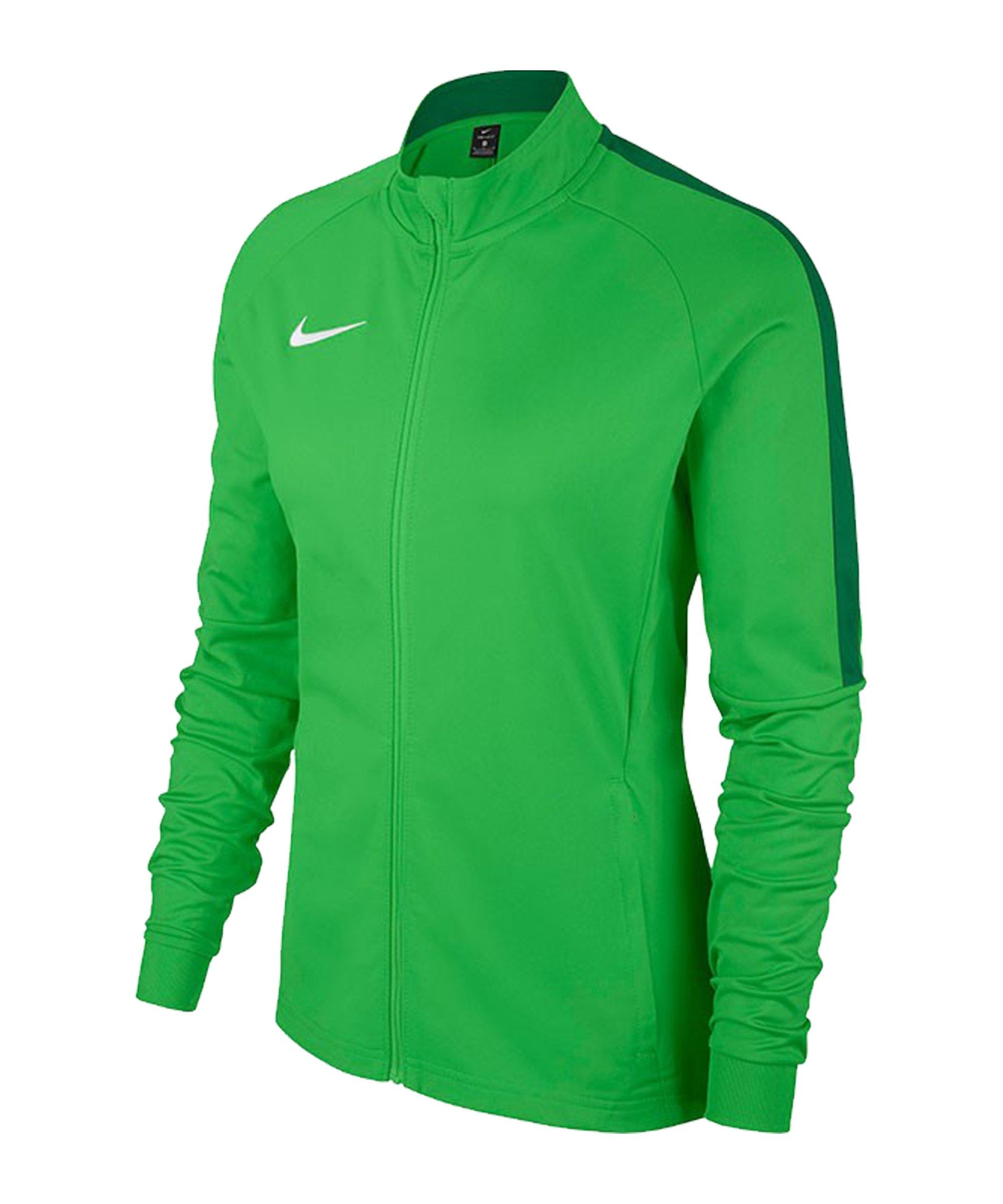 Nike Academy 18 Knit Trainingsjacke Damen F361 - gruen
