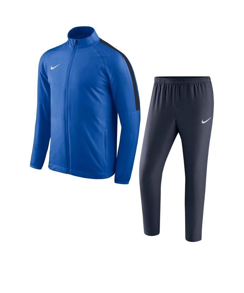 Nike Academy 18 Woven Trainingsanzug Kids F463 - blau