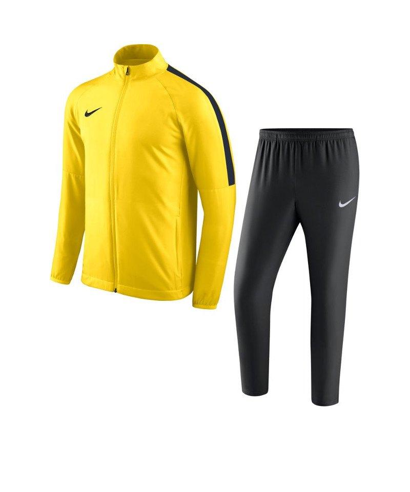 Nike Academy 18 Woven Trainingsanzug Kids F719 - gelb