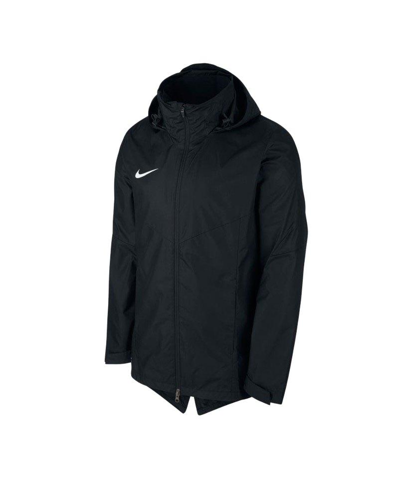 Nike Academy 18 Regenjacke Kids Schwarz F010 - schwarz