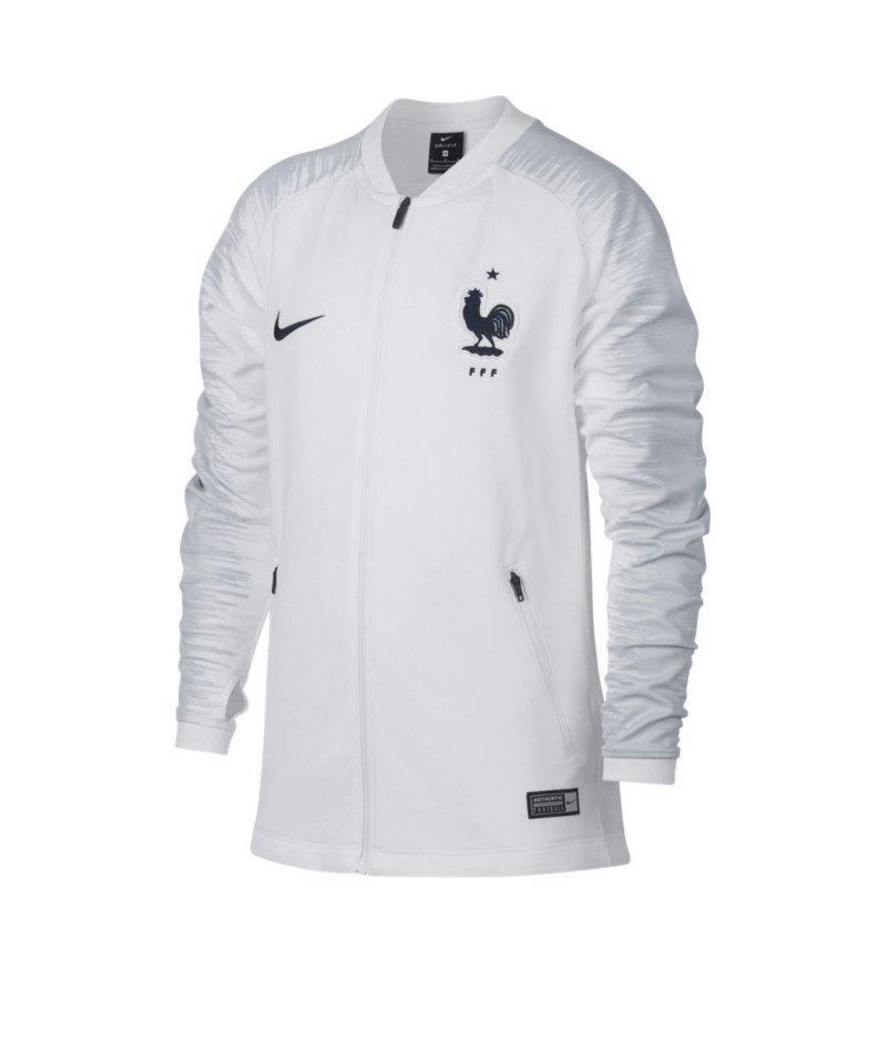 Nike Frankreich Anthem Football Jacket Kids F102 - weiss