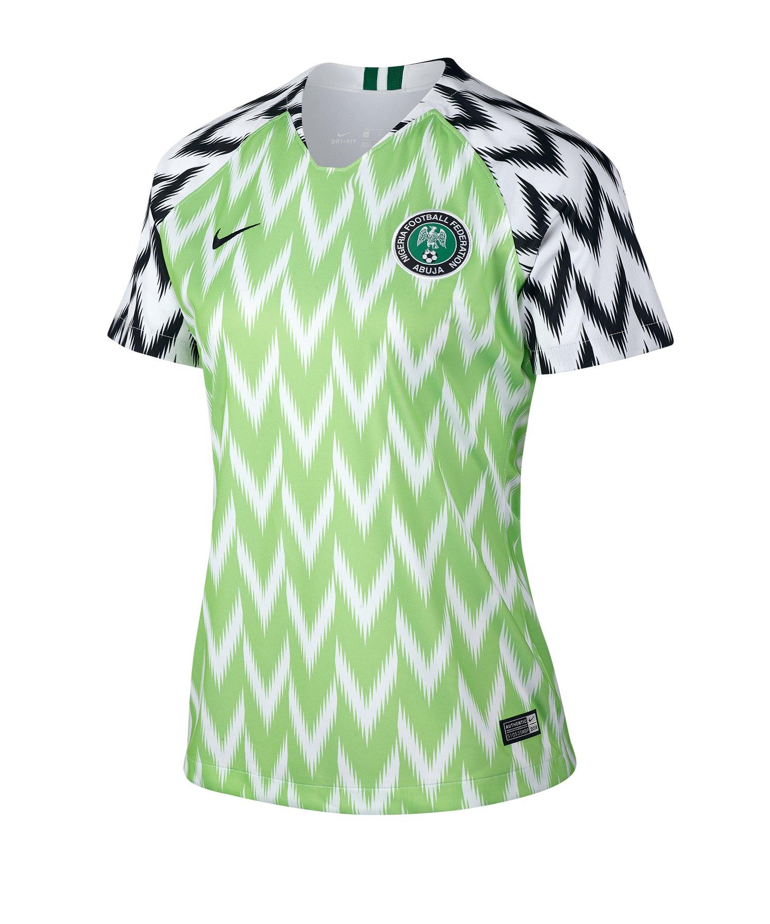 Nike Nigeria Trikot Home Damen WM 2019 Weiss F100 - weiss