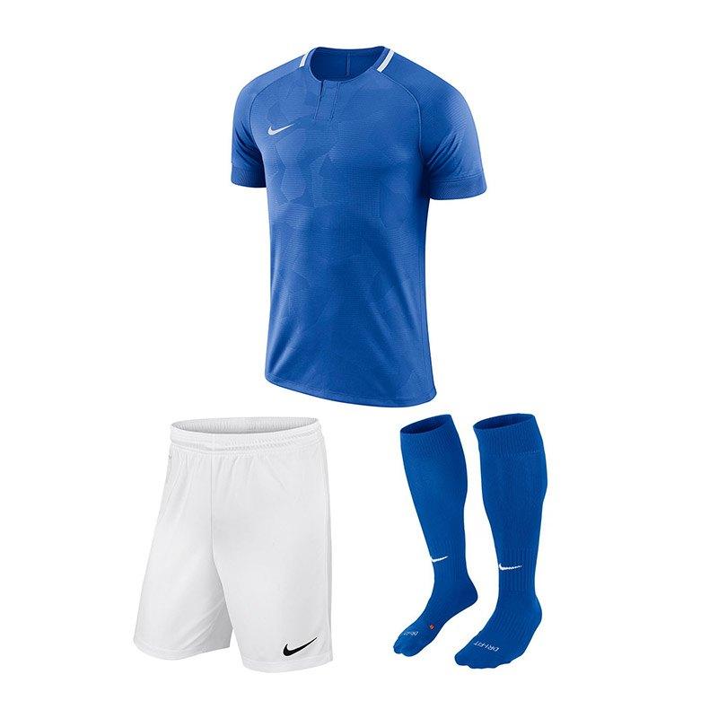 Nike Trikotset Challenge II Blau F463 - blau