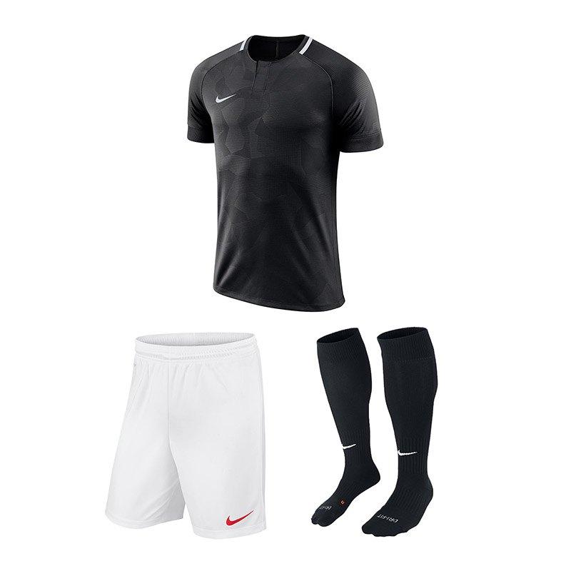Nike Trikotset Challenge II Schwarz F010 - schwarz