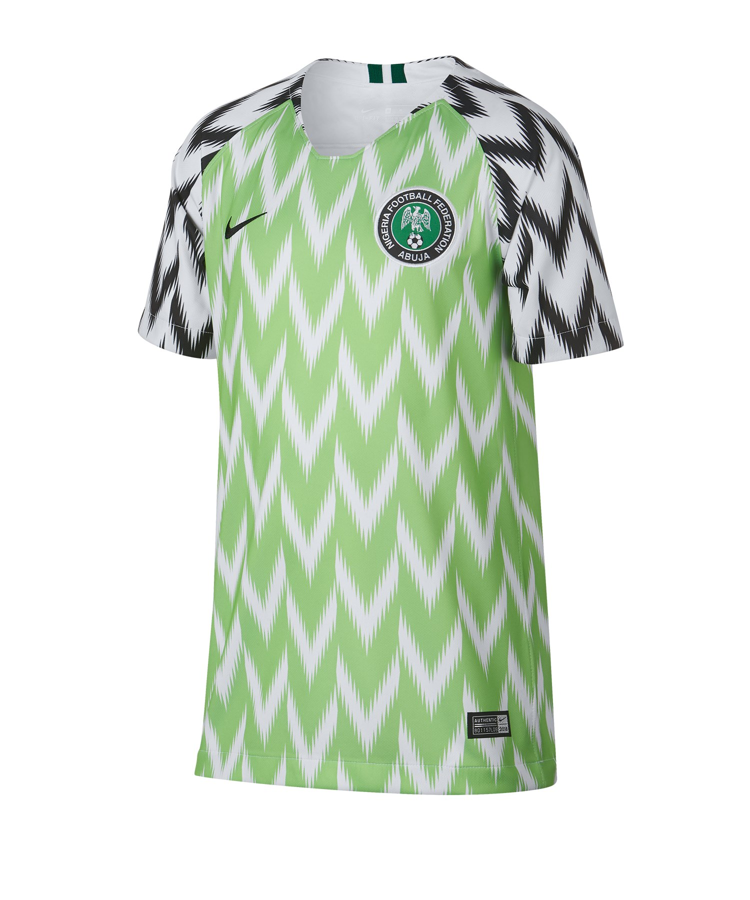 Nike Nigeria Trikot Home WM 2019 Kids Weiss F100 - weiss