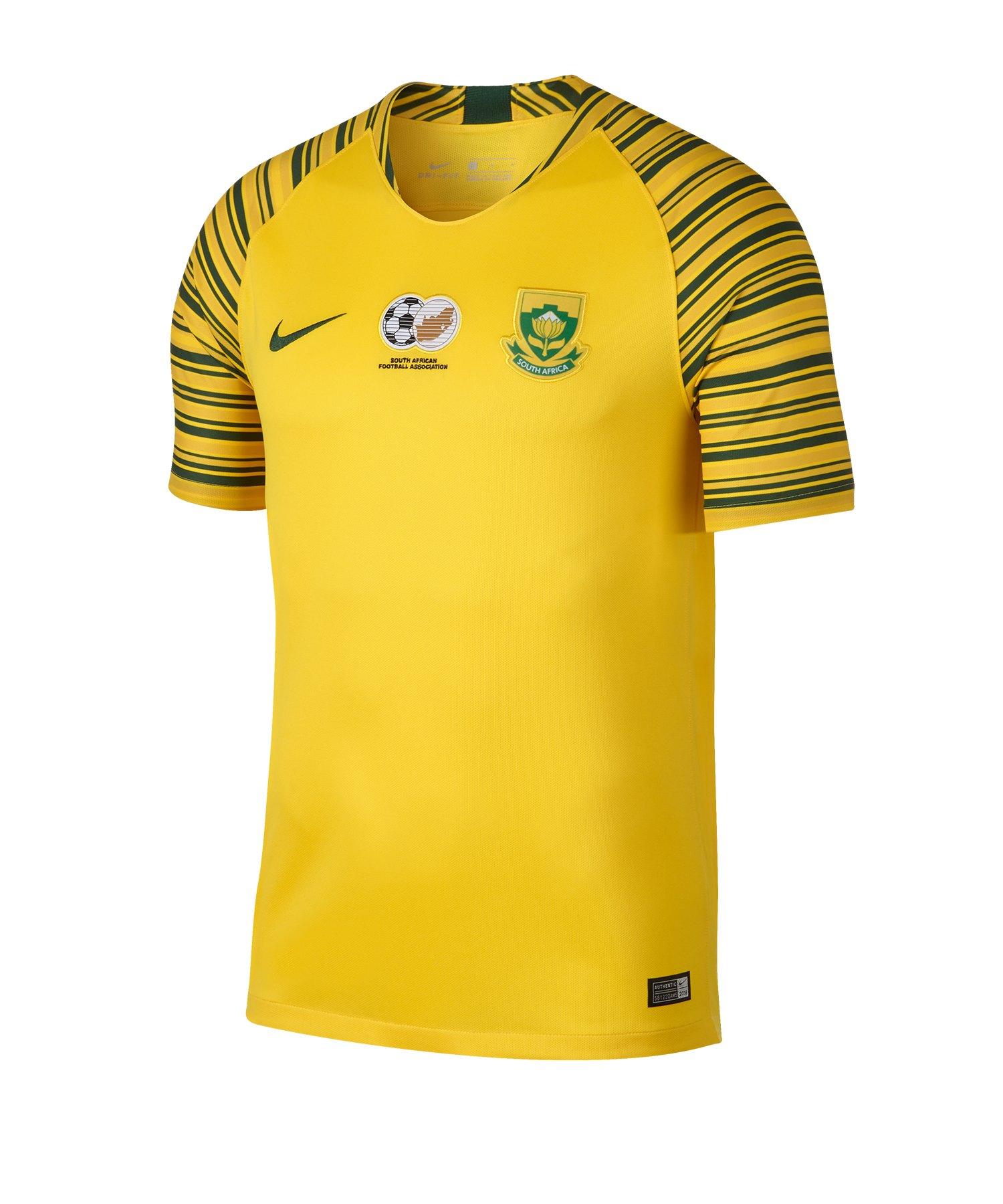 Nike Südafrika Trikot Home WM 2019 Kids Gelb F719 - gelb