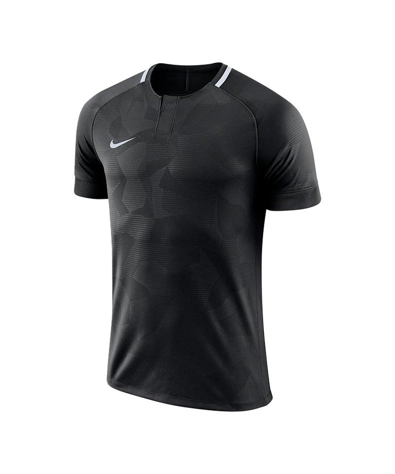 Nike Challenge II Trikot kurzarm Kids Schwarz F010 - schwarz