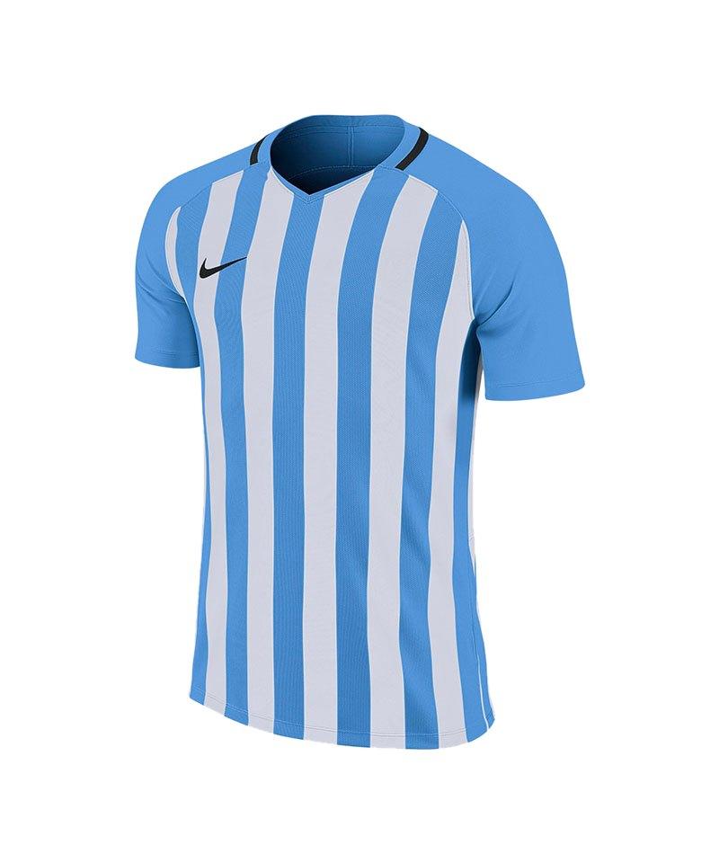 Nike Striped Division III Trikot Blau F412 - blau