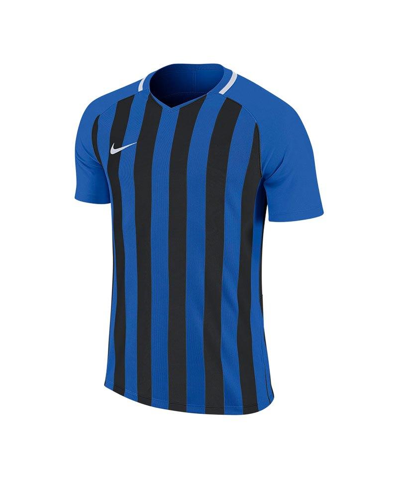 Nike Striped Division III Trikot Blau F463 - blau