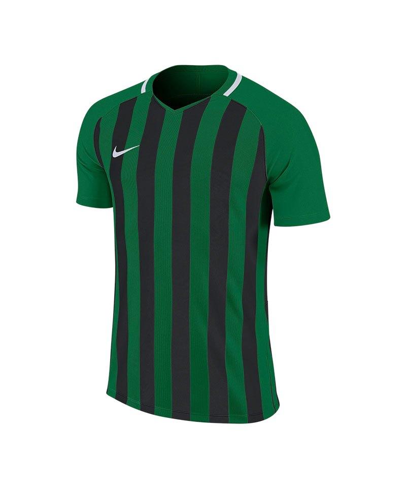 Nike Striped Division III Trikot Grün F302 - gruen