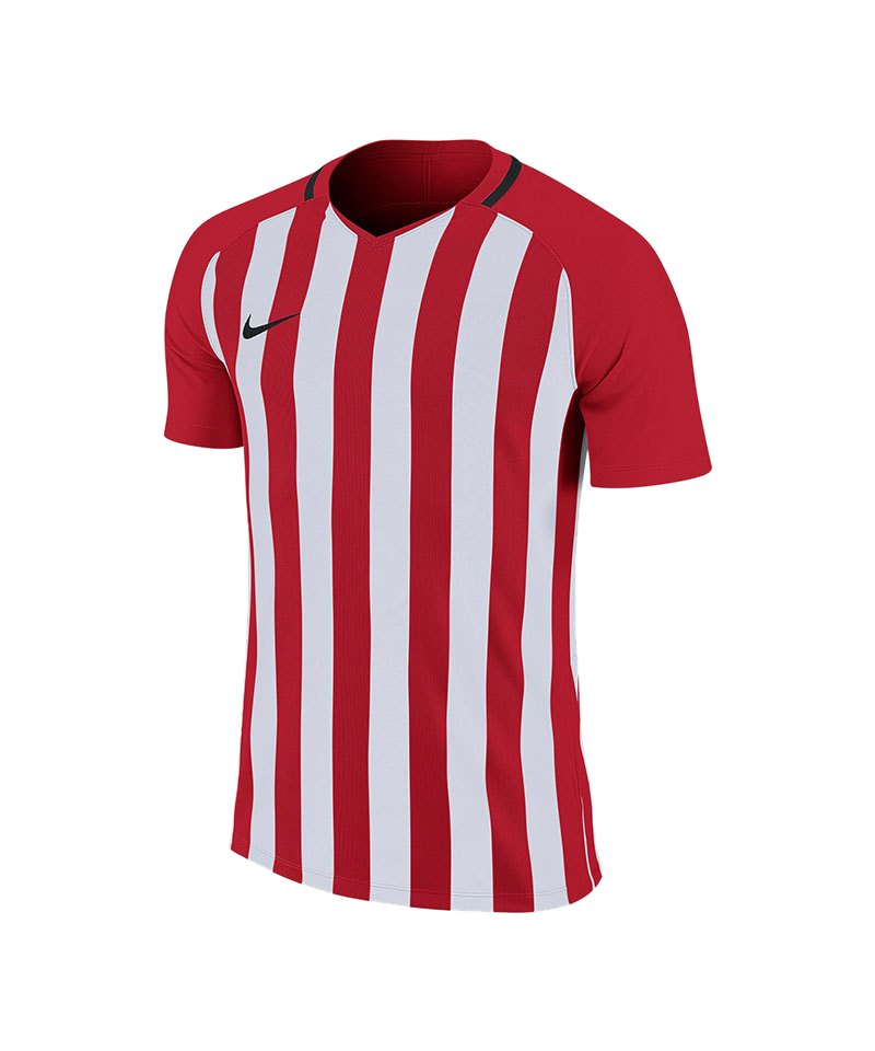 Nike Striped Division III Trikot Rot F658 - rot