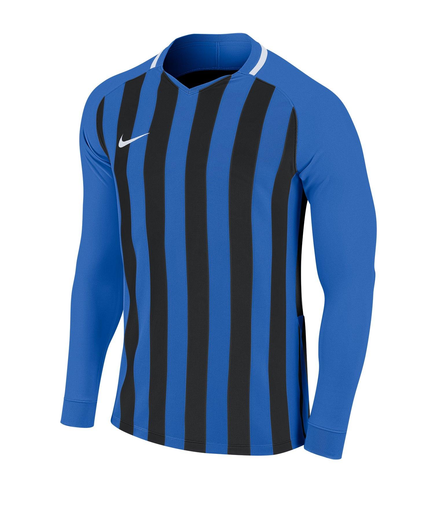 Nike Striped Division III Trikot langarm F463 - blau