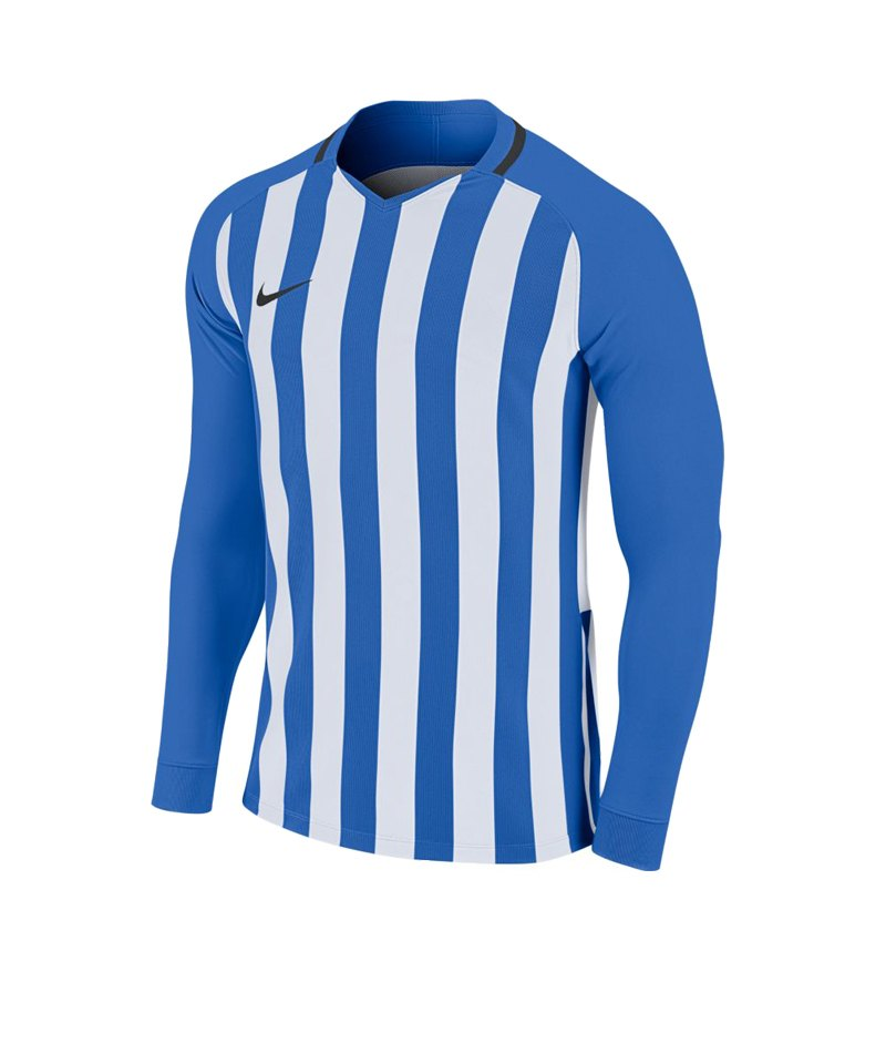 Nike Striped Division III Trikot langarm F464 - blau