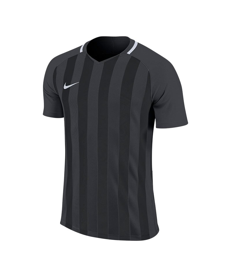 Nike Striped Division III Trikot kurzarm Kids F060 - grau