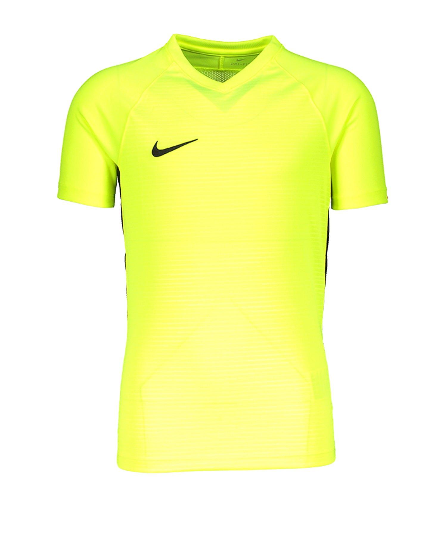 Nike Tiempo Premier Trikot Kids Gelb F702 - gelb