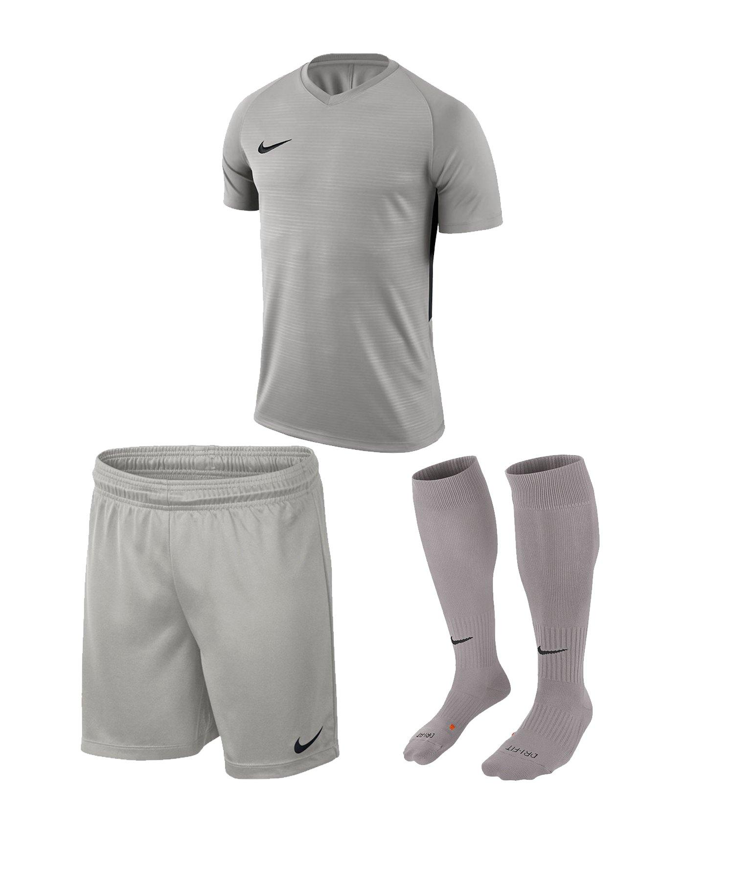 Nike Tiempo Premier Trikotset Kids Grau F057 - grau