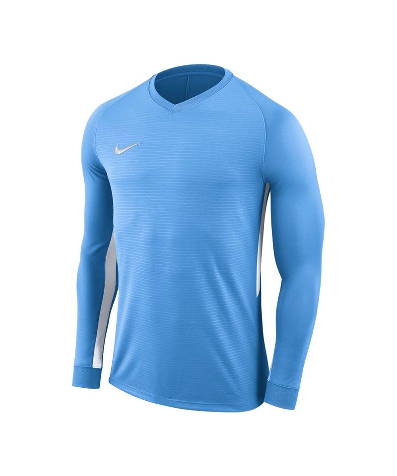 Nike Tiempo Premier Trikot langarm Kids Blau F412 - blau
