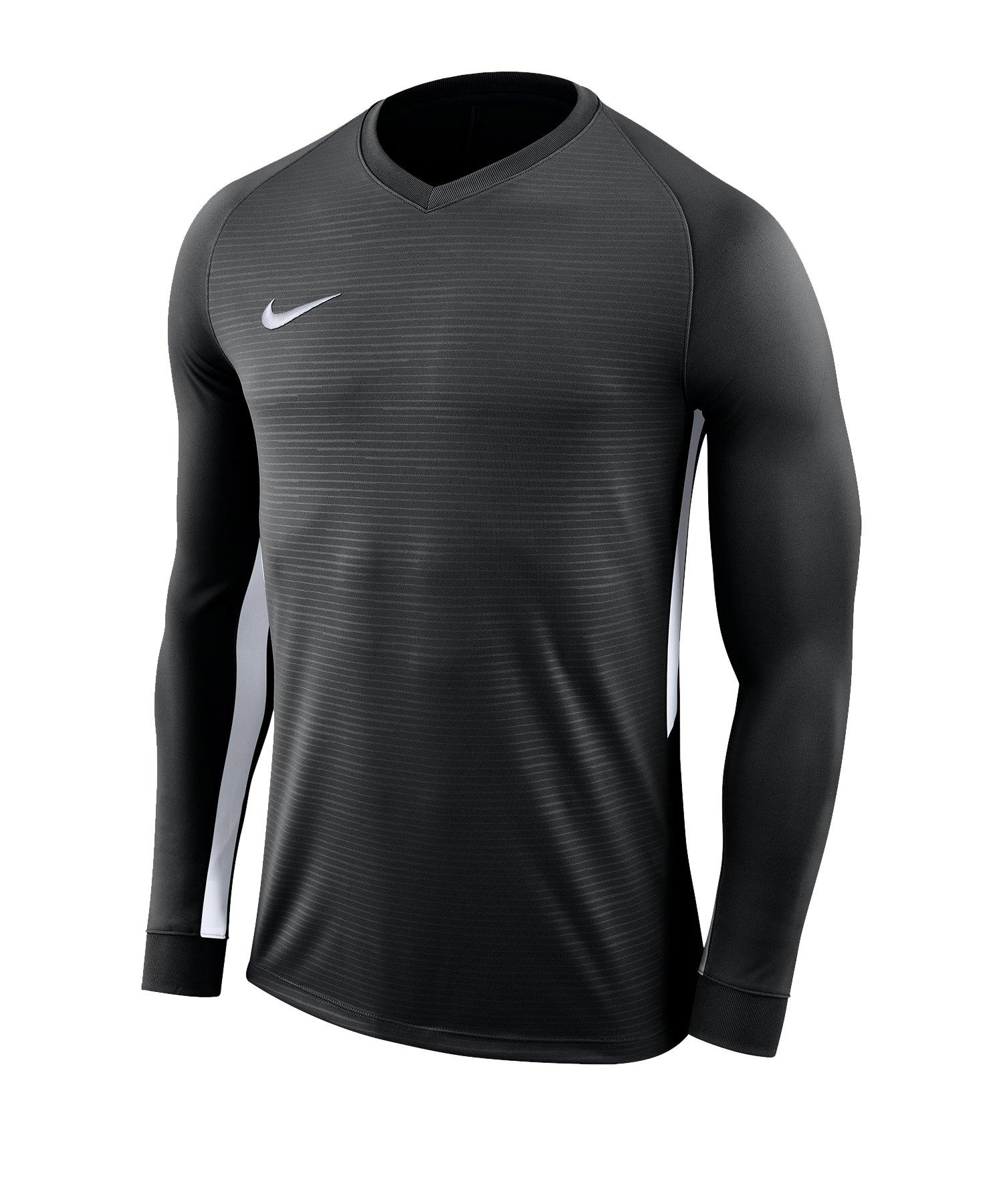 Nike Tiempo Premier Trikot Langarm Kids F010 - schwarz