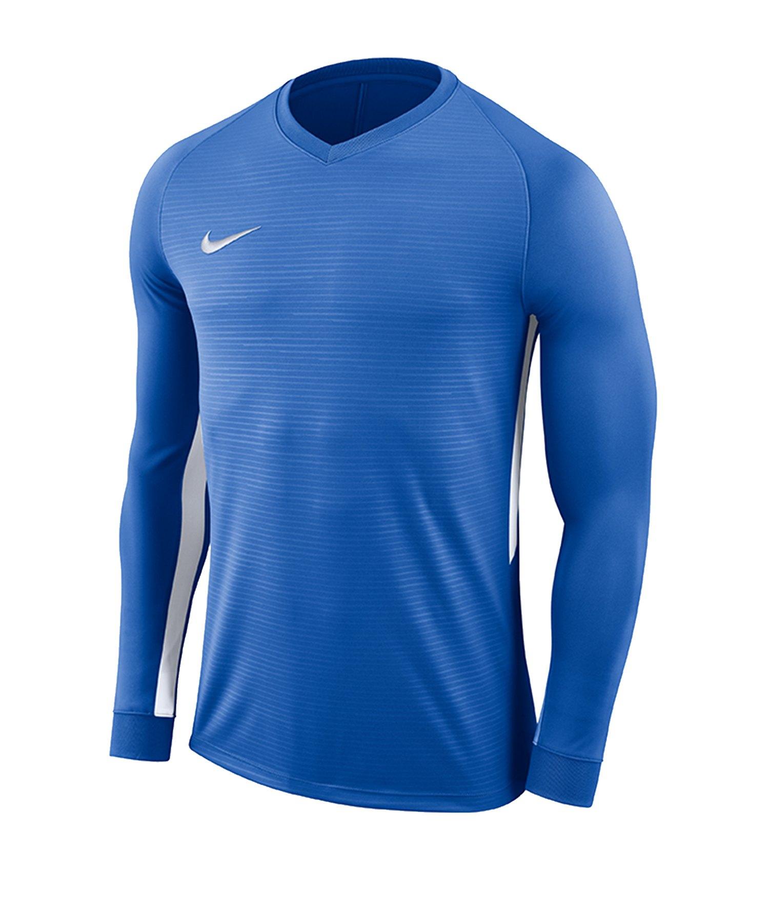 Nike Tiempo Premier Trikot Langarm Kids F463 - blau