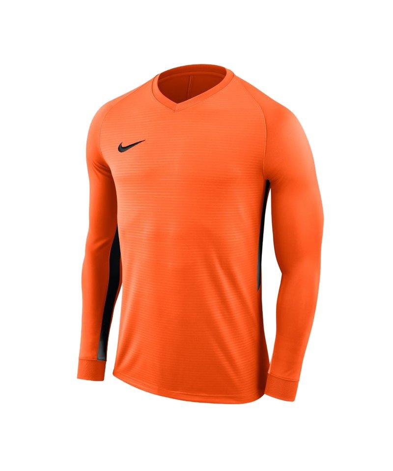 Nike Tiempo Premier Trikot Langarm Kids F815 - orange